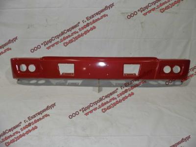 Бампер H красный самосвал металлический HOWO (ХОВО) WG1641240001