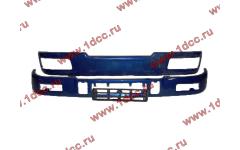 Бампер C синий верхний+нижний (в сборе) фото Москва